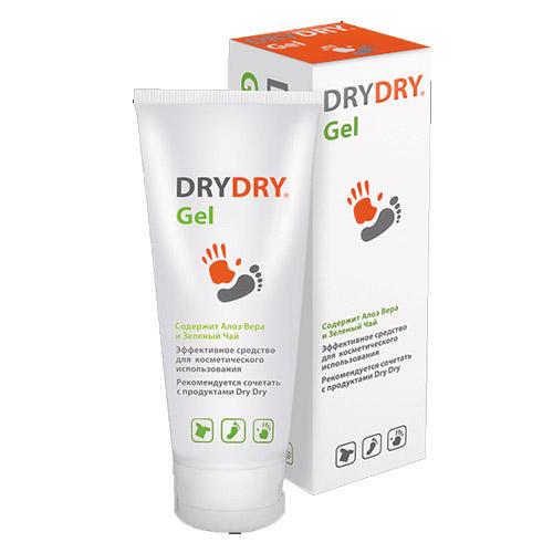 Гель от обильного потоотделения 100 мл (Dry Dry, Dry Dry) дезодоранты dry ru средство от потоотделения для ног с антимикробным действием dry ru foot spray 100мл