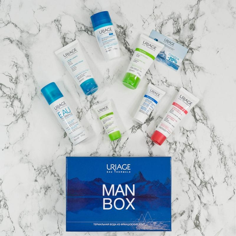 "Uriage Набор Мужской ""Man Box"" (Uriage, Tolederm)"