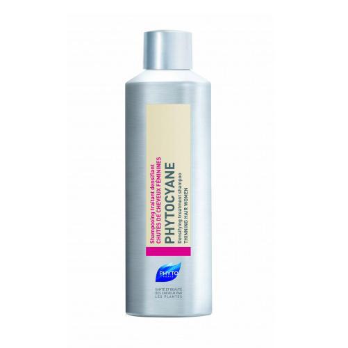 Phytosolba Фитоциан шампунь тонизирующий против выпадения волос у женщин 200 мл (Phytocyane)