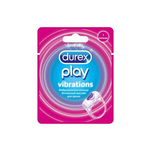 Вибрационное кольцо 1 шт. (Durex Play)