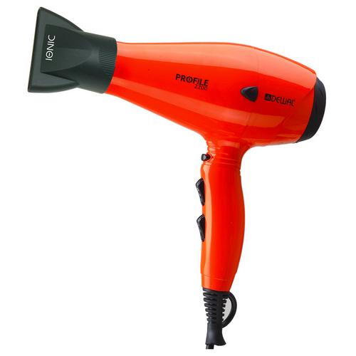 Купить Dewal Pro Фен Profile 2200 оранжевый, 2200 Вт, ионизация, 2 насадки (Dewal Pro, Фены)