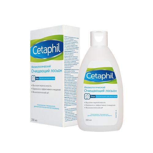 Физиологический лосьон очищающий 200 мл (Cetaphil, Sensibles) cetaphil