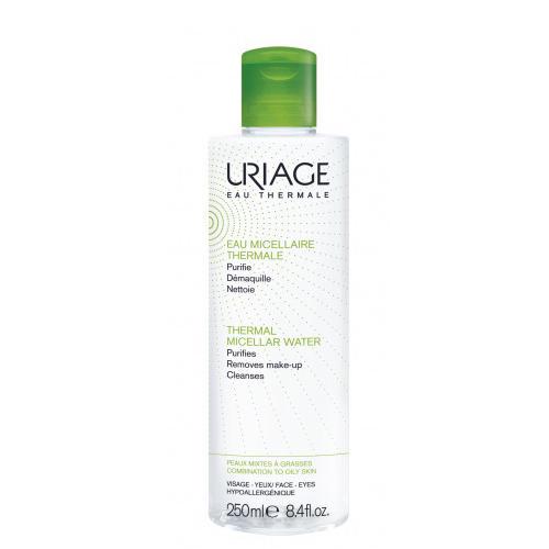 Мицеллярная Вода очищающая для комбинированной и жирной кожи 250 мл (Uriage, Гигиена Uriage) очищающая мицеллярная вода для гиперчувствительной кожи 250 мл uriage гигиена uriage