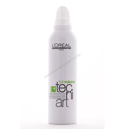 Фулл Волюм Мусс для объема тонких волос 250 мл (Loreal Professionnel, Techi.art) волюм лифт мусс для прикорневого объема 250мл loreal professionnel techi art