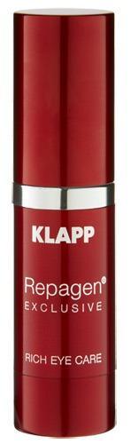Питательный крем для век, 15 мл (Klapp, Repagen exclusive) крем для кожи вокруг глаз 20 мл klapp cs iii
