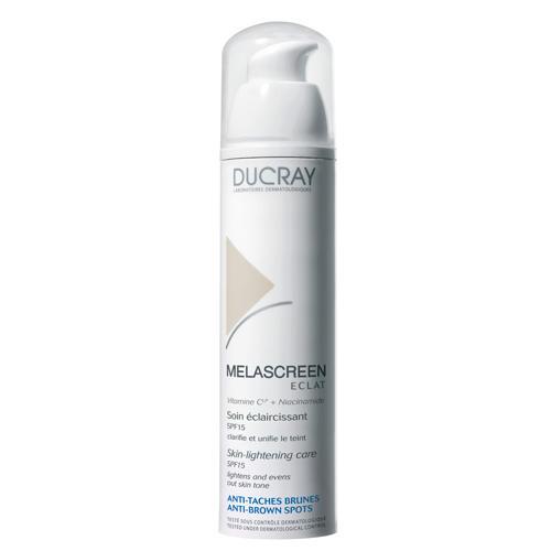 Меласкрин Крем Риш SPF 15 для ежедневного ухода за кожей с гиперпигментацией, 40 мл (Ducray, Пигментные пятна) ducray легкий отбеливающий крем spf 15 меласкрин 40 мл