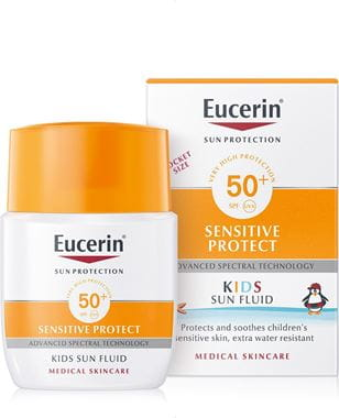 Eucerin Детский  солнцезащитный флюид, SPF 50+, 50 мл (Eucerin, Sun Protection)