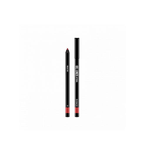 Карандаш Для Губ Гелевый Gel Liner 2 г (Divage, Карандаш для губ) provoc гелевая подводка карандаш для губ 29 cinnamon sugar цвет бежево розовый