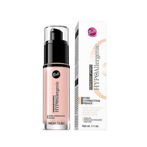 Bell Основа под макияж, уменьшающая видимость пор кожи Pore Correcting Primer 30 мл (Bell, Hypoallergenic)
