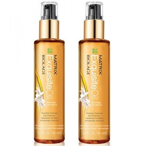 Matrix Комплект Биолаж Эксквизит Ойл Питающее масло для волос 2 шт х 92 мл (Matrix, Biolage Exquisite Oil)