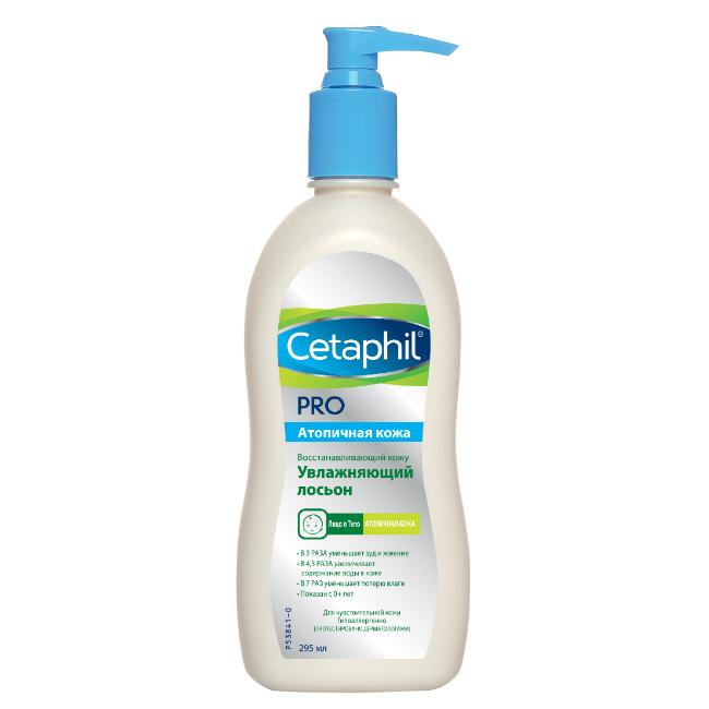 Cetaphil Восстанавливающий кожу увлажняющий лосьон PRO 295 мл (Cetaphil, Restoraderm) фото