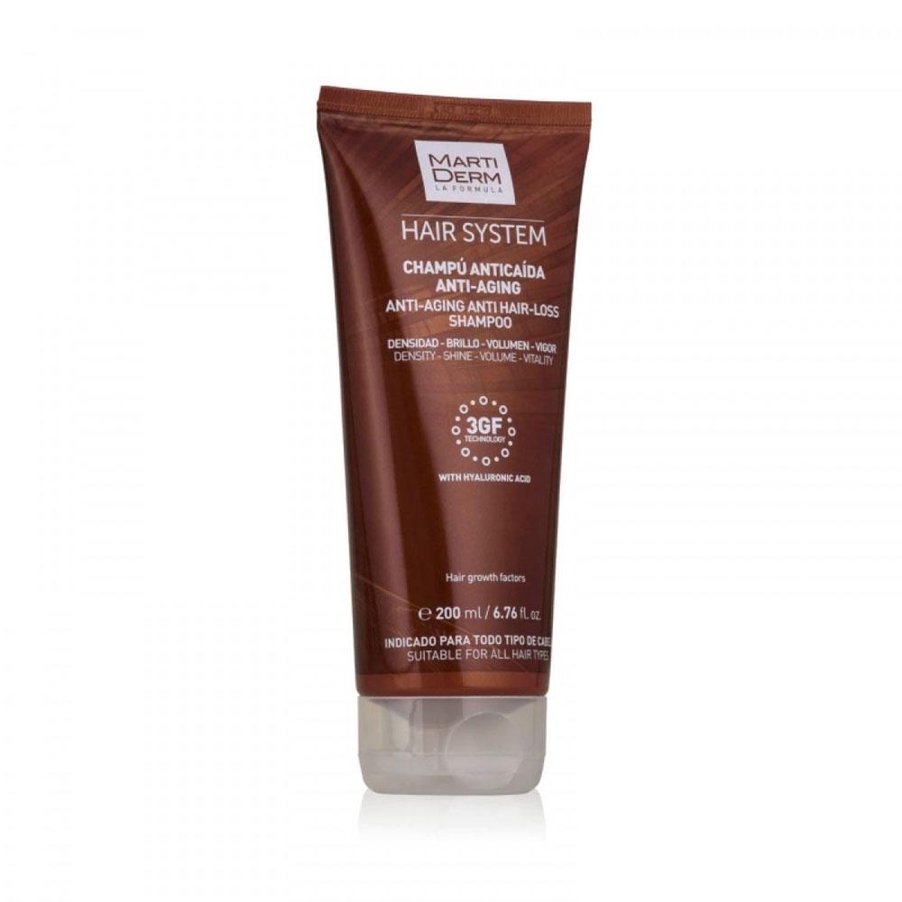 Купить Martiderm Hair System Шампунь против выпадения волос Анти-эйдж 200 мл (Martiderm, Hair System)