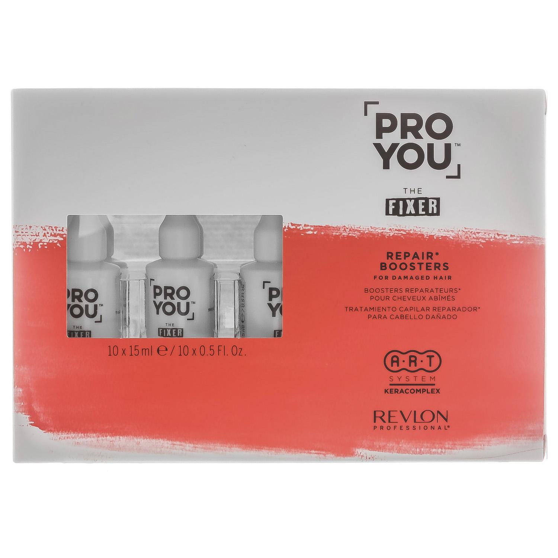Купить Revlon Professional Бустер восстанавливающий для поврежденных волос Repair Boosters, 10 шт * 15 мл (Revlon Professional, Pro You), США