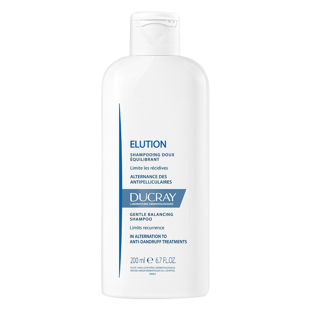 Ducray Мягкий балансирующий шампунь Элюсьон 200 мл (Ducray, Перхоть) ducray неоптид лосьон от выпадения волос для мужчин 100 мл