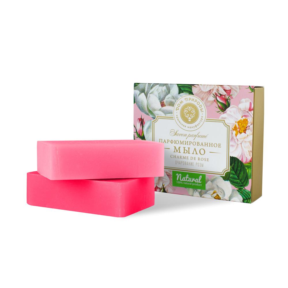 Купить Дом природы Подарочный набор парфюмированного мыла «Очарование розы» (Дом природы, Наборы), Россия