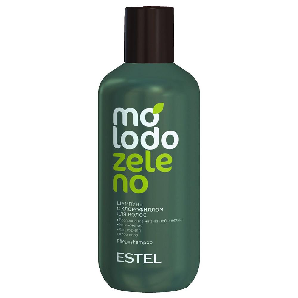 Купить Estel Шампунь для волос с хлорофиллом, 250 мл (Estel, Molodo Zeleno), Россия