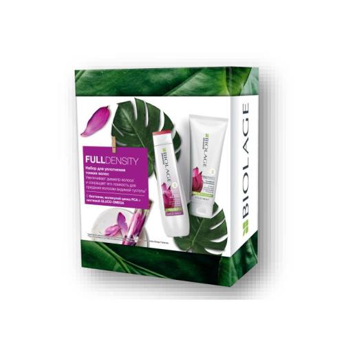 Купить Matrix Набор Biolage Fulldensity для уплотнения волос: Шамупнь для тонких волос, 250 мл + Кондиционер для тонких волос, 200 мл (Matrix, Biolage), США