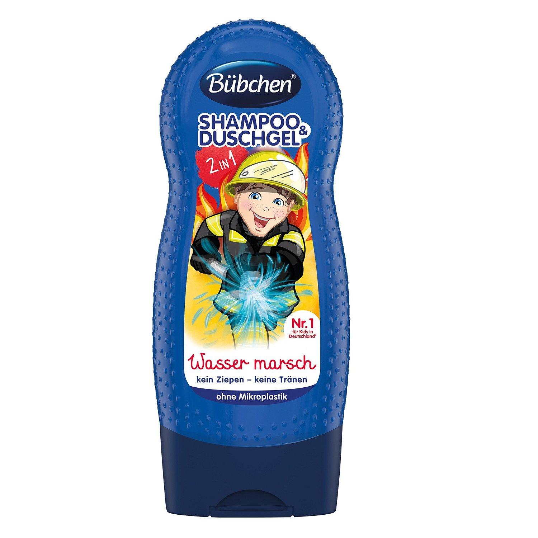 Купить Bubchen Детский шампунь и гель для душа Храбрый пожарный , 230 мл (Bubchen, Купание и умывание), Германия