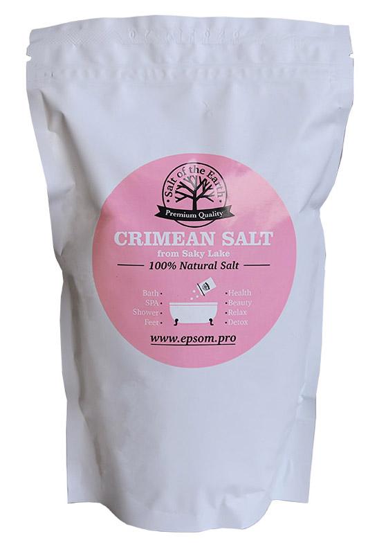 Купить Salt of the Earth Крымская (Сакская) соль для ванн 1 кг (Salt of the Earth, Для ванны), Россия