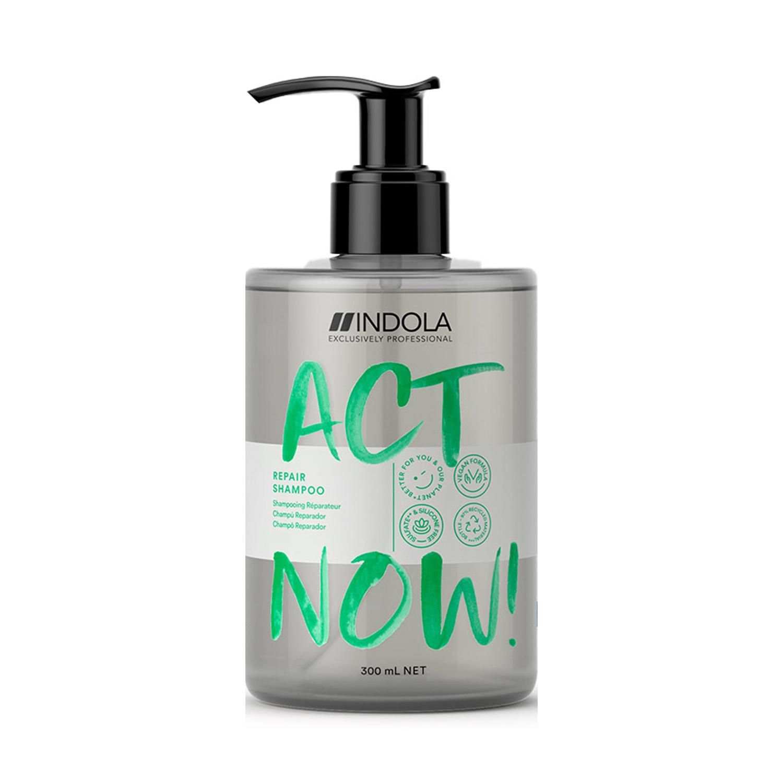 Купить Indola Шампунь Act Now Repair для восстановления волос, 300 мл (Indola, Repair), Германия