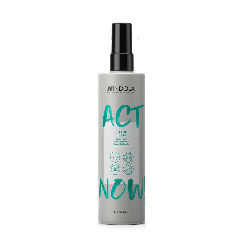 Купить Indola Моделирующий спрей Act Now Setting Spray для укладки волос, 200 мл (Indola, Стайлинг), Германия
