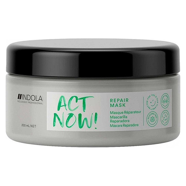 Купить Indola Маска Act Now Repair для восстановления волос, 200 мл (Indola, Repair), Германия