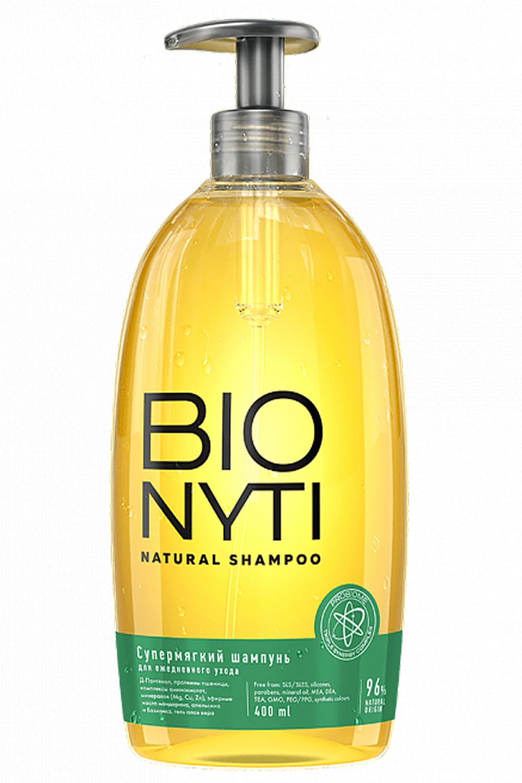 Bionyti Шампунь для волос «Супермягкий» 400мл (Bionyti, Для волос)
