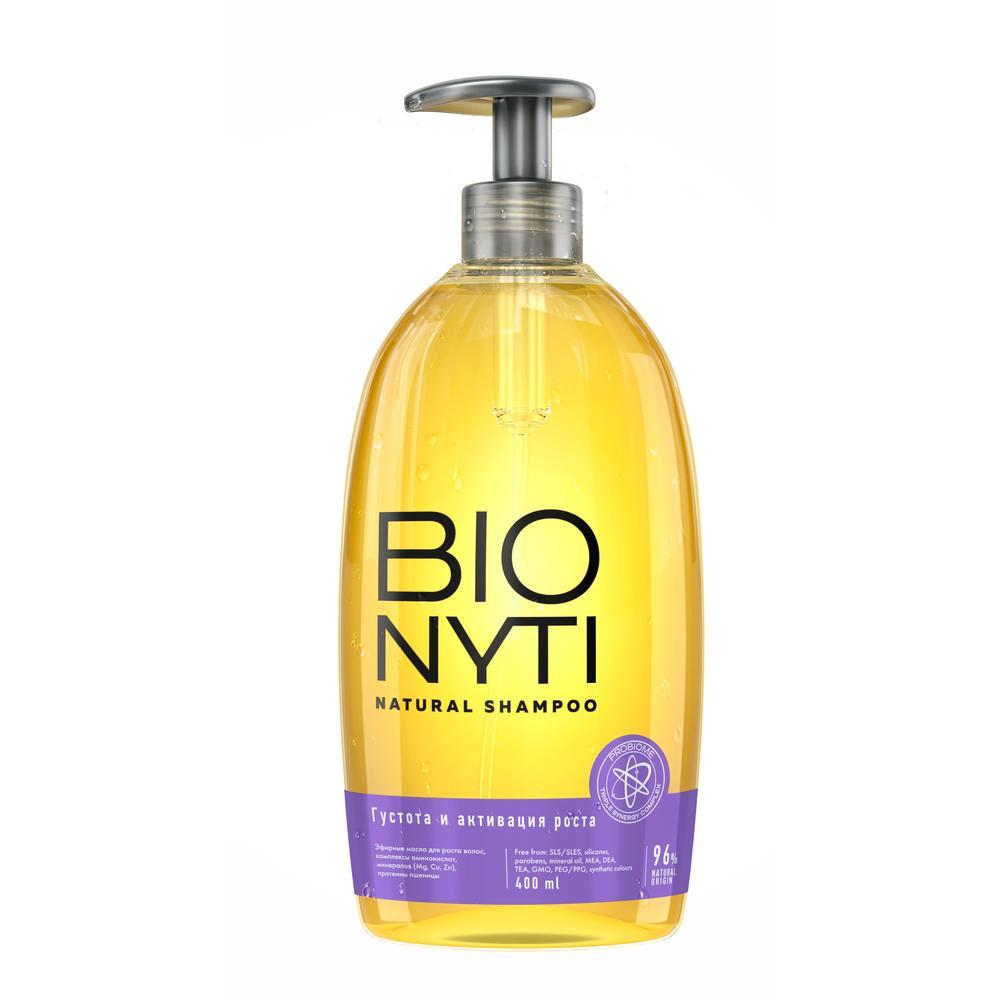Bionyti Шампунь для волос «Густота и активация роста» 400мл (Bionyti, Для волос)