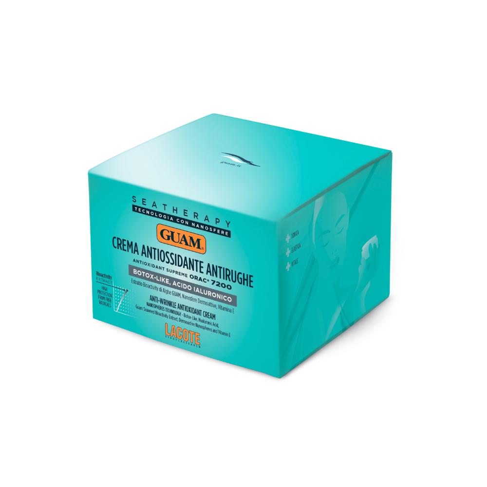 Купить Guam Крем для лица антивозрастной «Ботокс эффект» с гиалуроновой кислотой 50 мл (Guam, Seatherapy), Италия