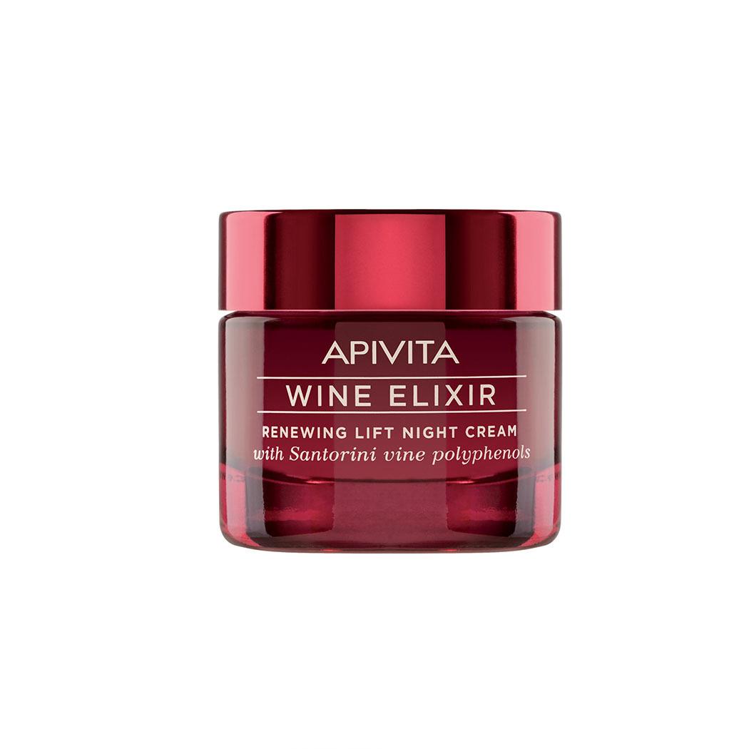 Apivita Ночной крем-лифтинг, 50 мл (Apivita, Wine Elixir)