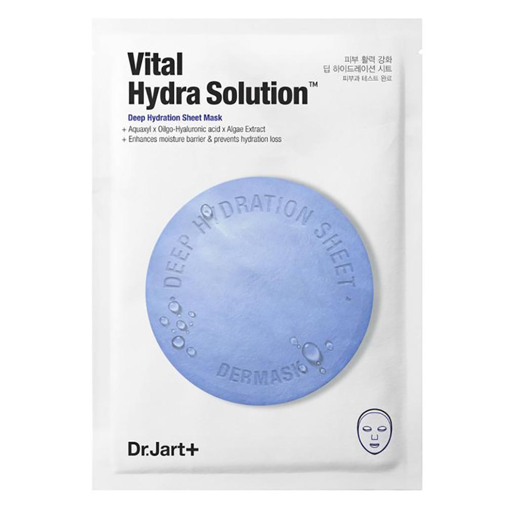 Купить Dr. Jart+ Увлажняющая маска Капсулы красоты с гиалуроновой кислотой Hydra Vital Solution, 25 г (Dr. Jart+, Dermask), Южная Корея