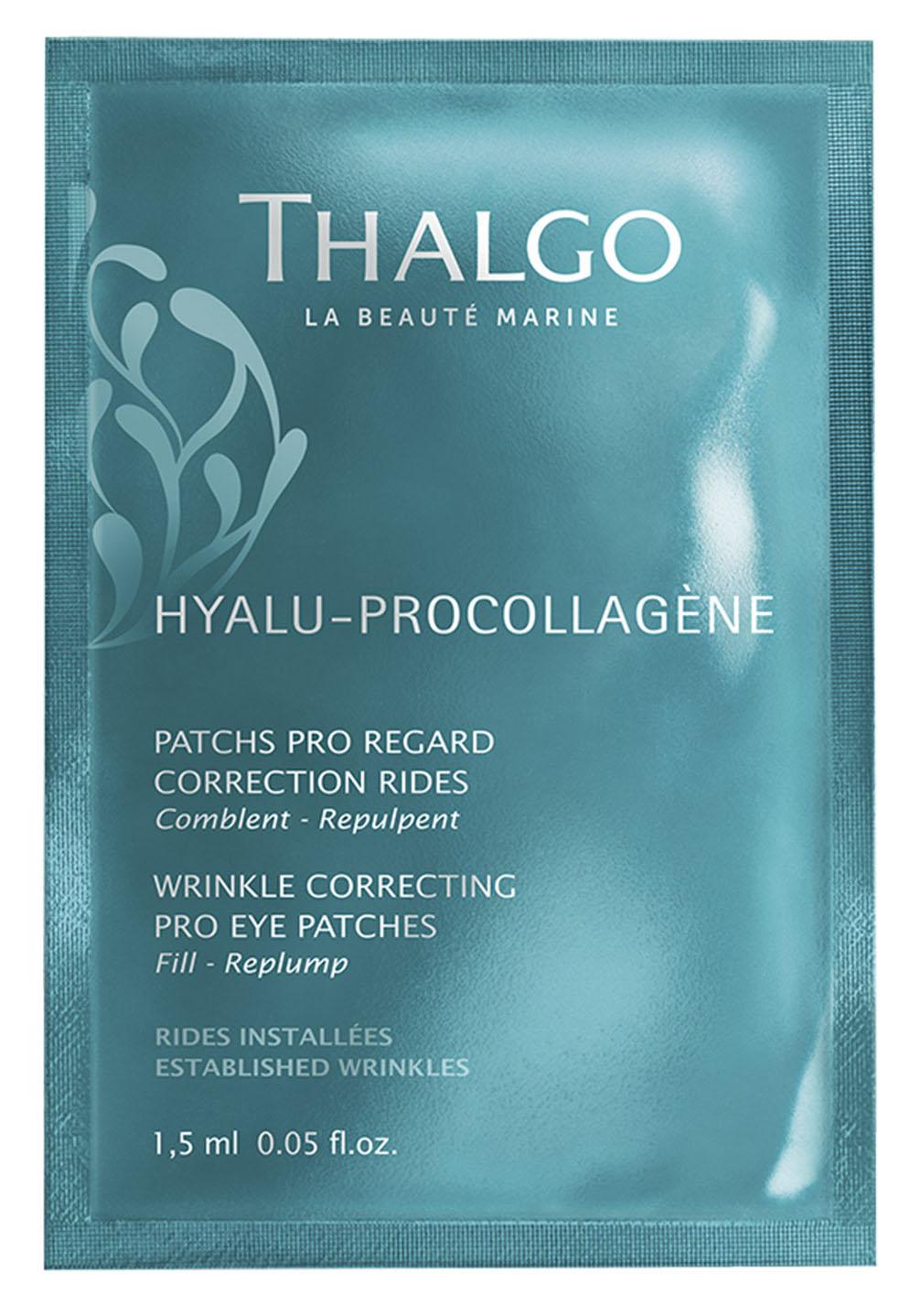Купить Thalgo Разглаживающие морщины маски-патчи для кожи вокруг глаз 8 x 2 (Thalgo, Hyalu-procollagene), Франция