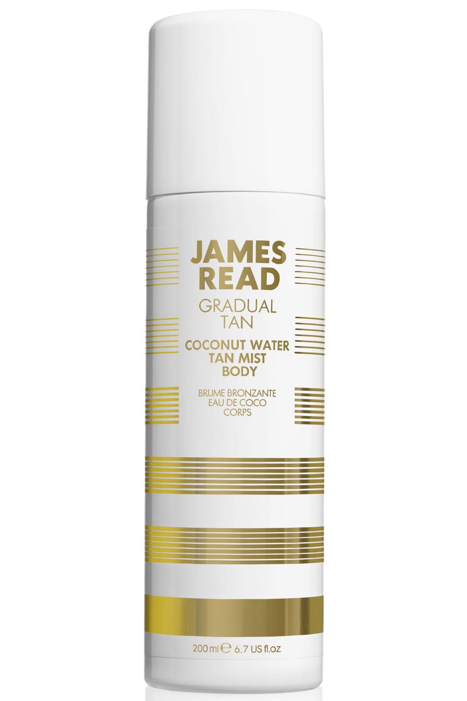 Фото - James Read Кокосовая вода-спрей освежающее сияние Coconut Water Tan Mist Body 200 мл (James Read, Gradual Tan) масло для автозагара james read self tan coconut dry tan body 100 мл