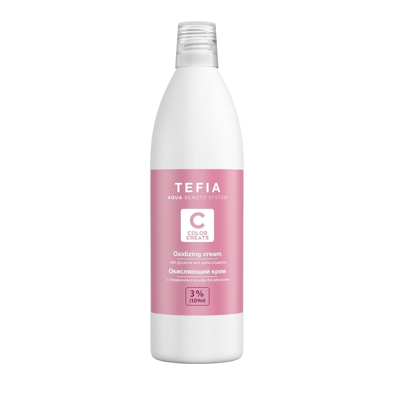 Tefia Окисляющий крем с глицерином и альфа-бисабололом 3% vol. 10, 1000мл (Tefia, Color Creats)  - Купить