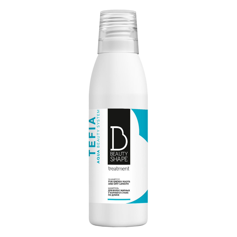 Купить Tefia Шампунь для волос жирных у корней и сухих по длине 250 мл (Tefia, Beauty Shape)