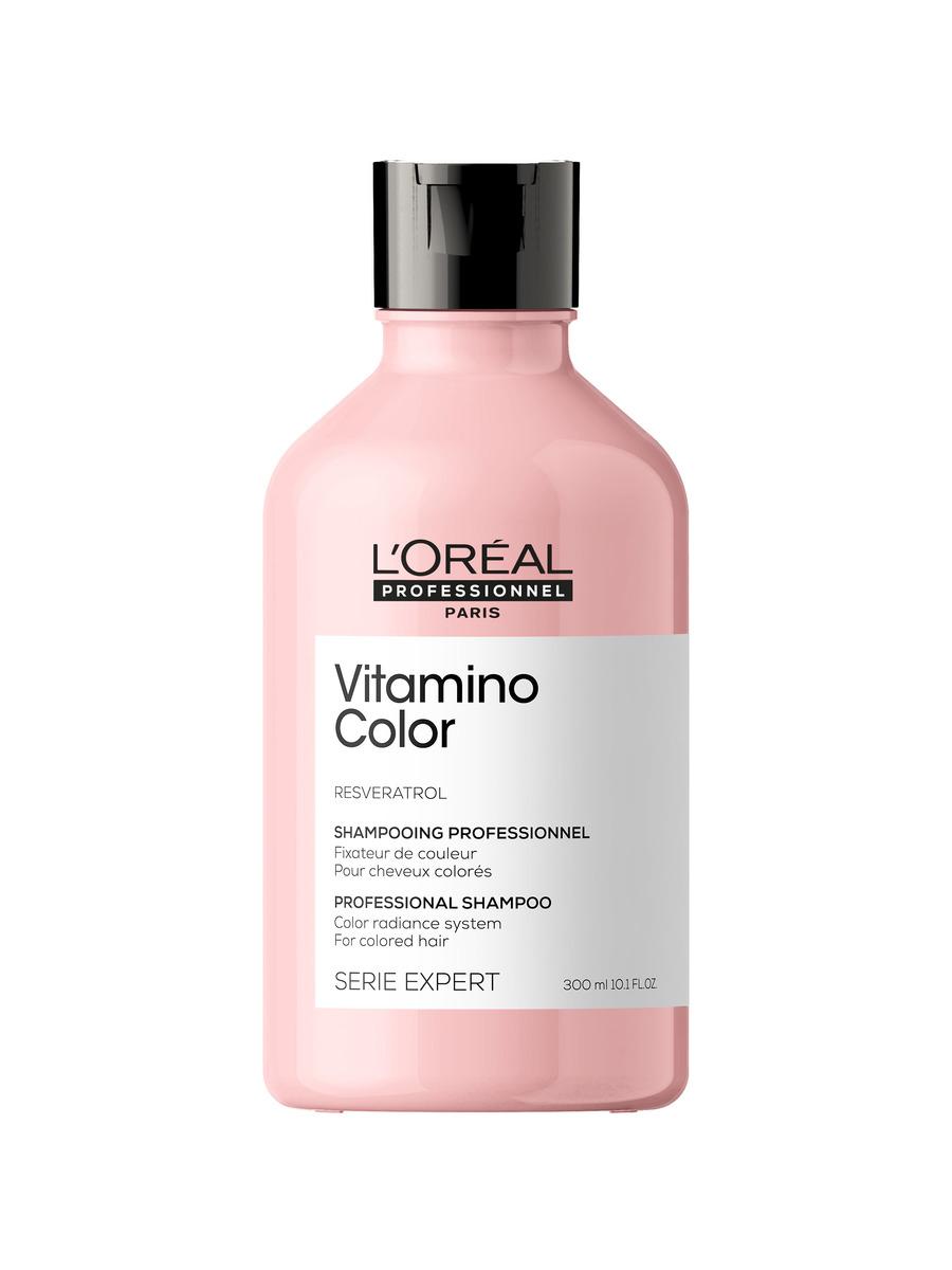 Купить Loreal Professionnel Шампунь Vitamino Color для окрашенных волос, 300 мл (Loreal Professionnel, Serie Expert), Франция