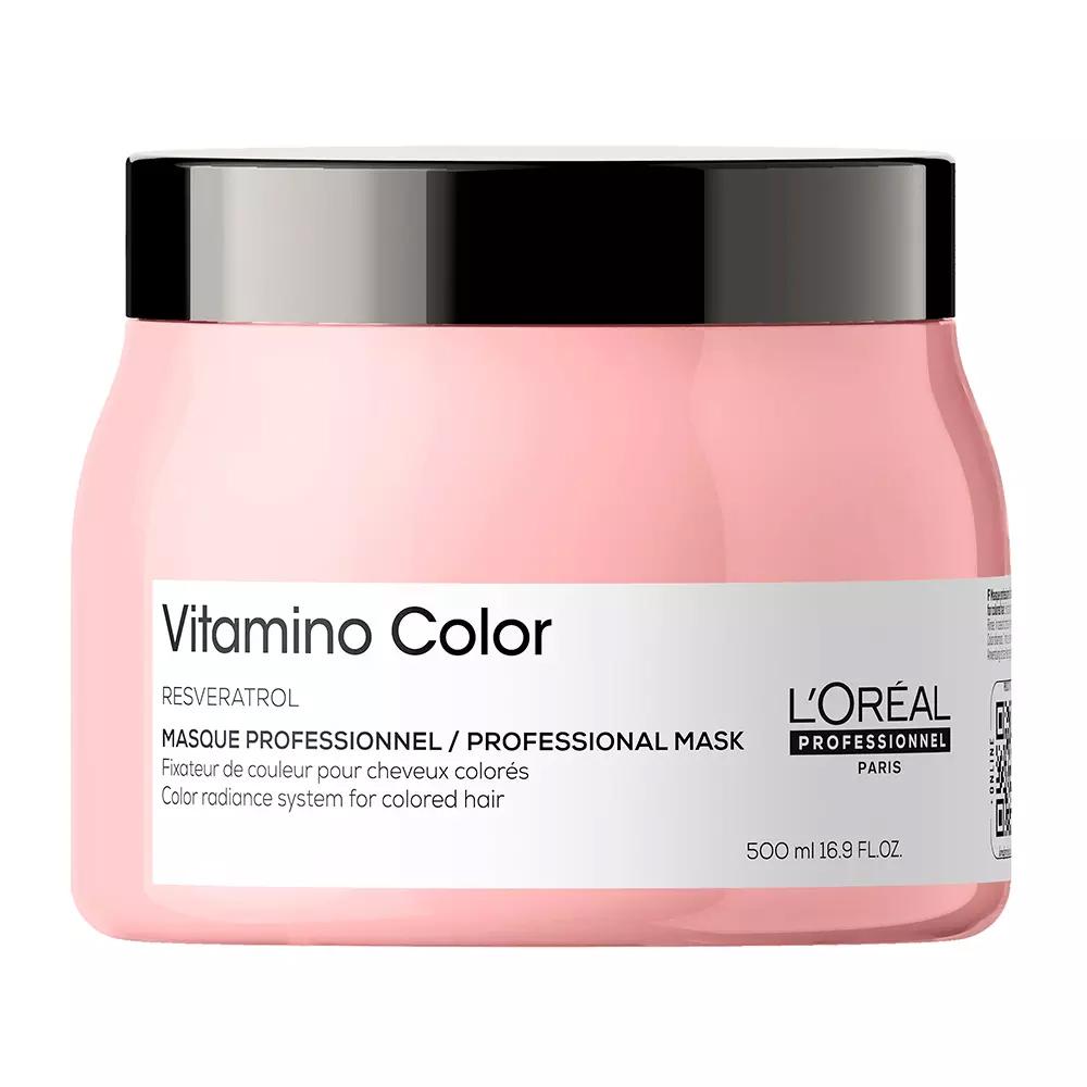 Купить Loreal Professionnel Маска Vitamino Color для окрашенных волос, 500 мл (Loreal Professionnel, Serie Expert), Франция