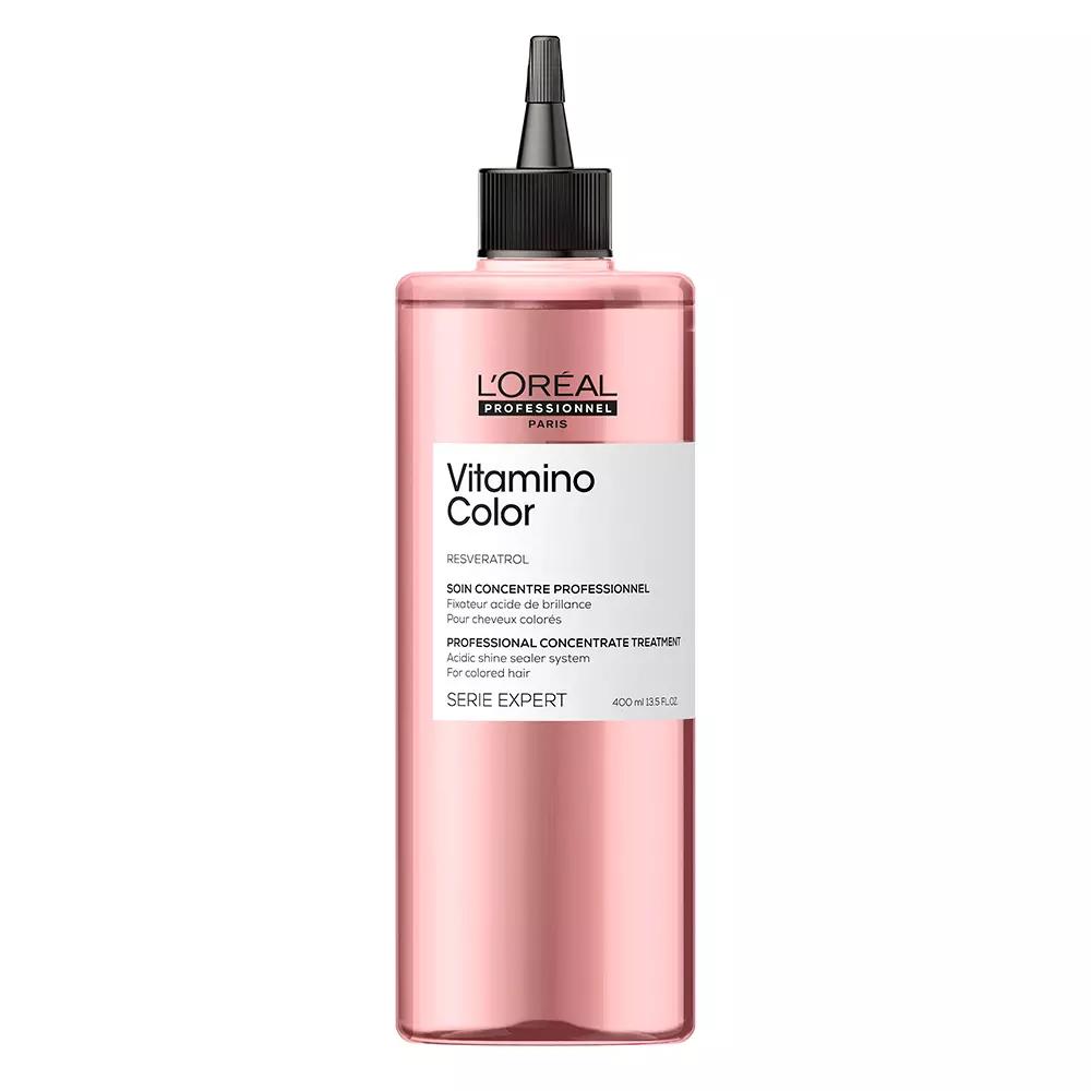 Купить Loreal Professionnel Концентрат Vitamino Color с системой фиксации цвета для осветленных и мелированных волос, 400 мл (Loreal Professionnel, Serie Expert), Франция