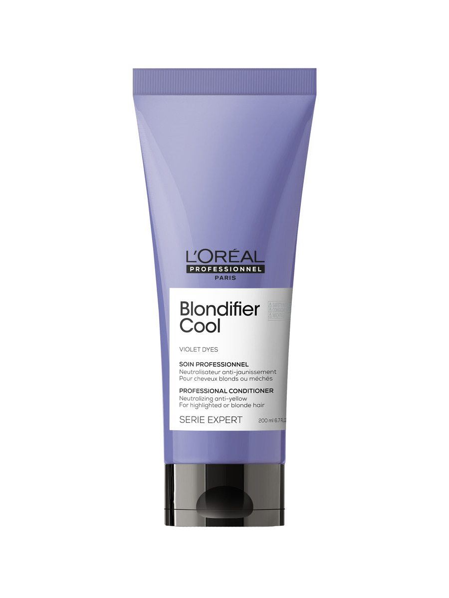Купить Loreal Professionnel Кондиционер Blondifier Cool для нейтрализации желтизны холодных оттенков блонд, 200 мл (Loreal Professionnel, Serie Expert), Франция