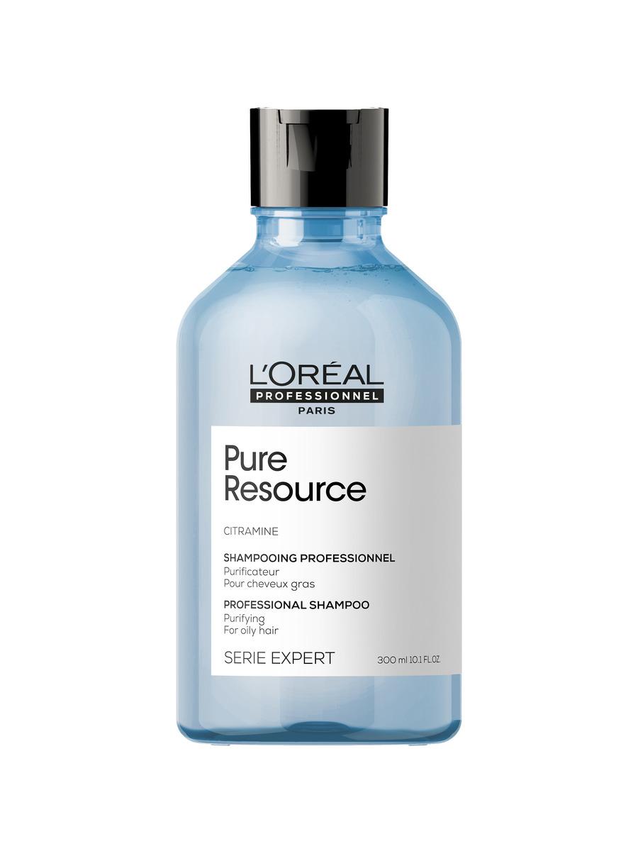 Купить Loreal Professionnel Глубоко очищающий шампунь Serie Expert Pure Resource для волос, склонных к жирности, 300 мл (Loreal Professionnel, Serie Expert), Франция