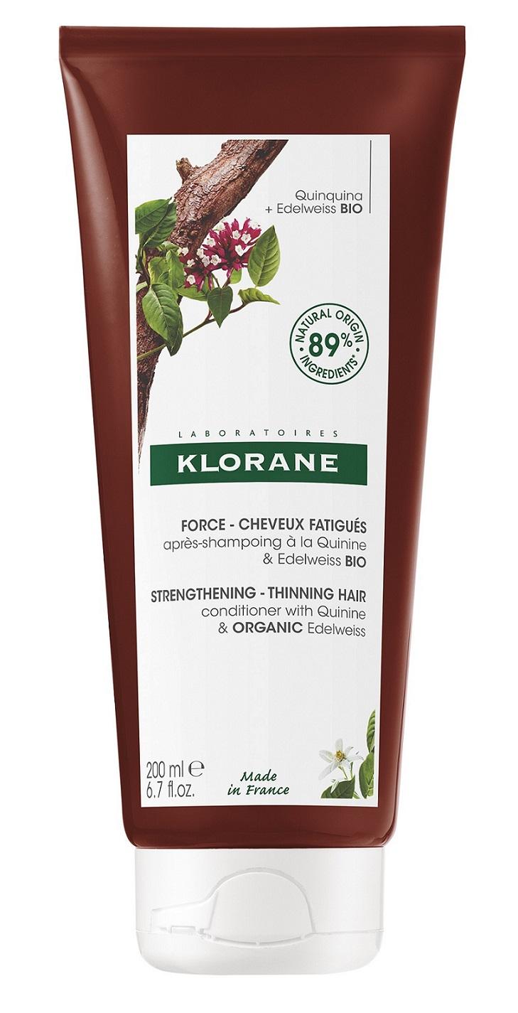 Купить Klorane Кондиционер с экстрактом хинина и органическим экстрактом эдельвейса, 200 мл (Klorane, ), Франция