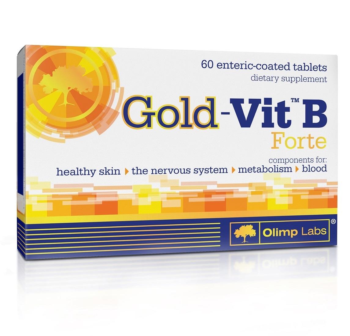 Olimp Labs Gold-Vit B Forte биологически активная добавка к пище, 190 мг, №60 (Olimp Labs, Витамины и Минералы)