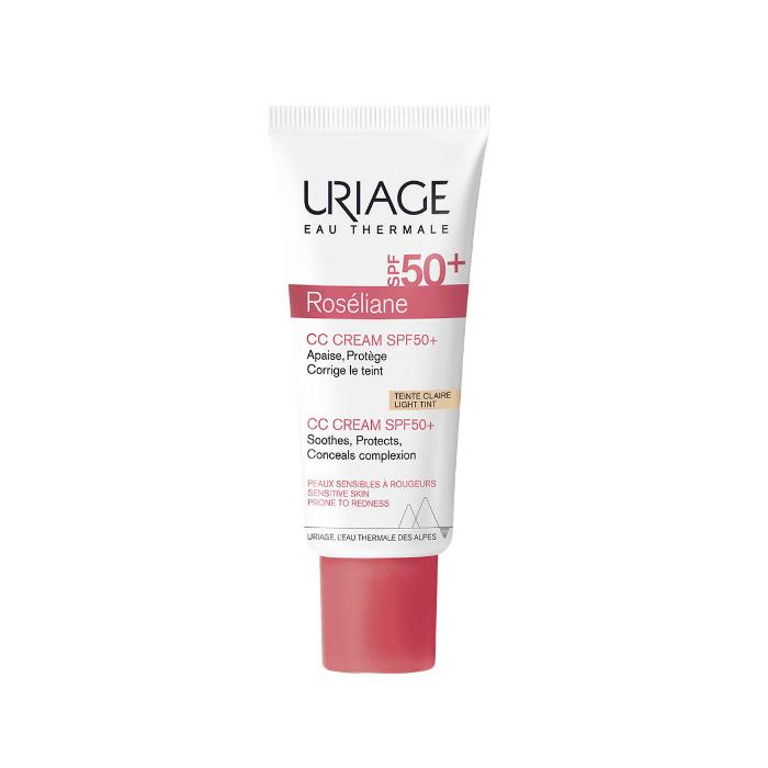 Uriage Крем SPF 50+ Розельян CC натуральный бежевый тон, 40 мл (Uriage, Roseliane)
