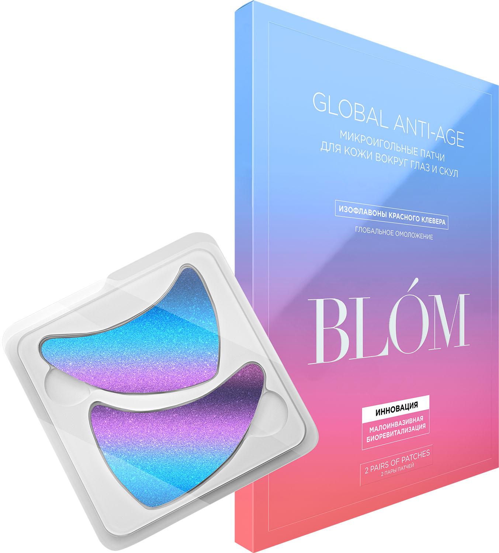 Купить Blom Патчи микроигольные для зрелой кожи Global Anti-Age, 2 пары (Blom, Global Anti-Age)