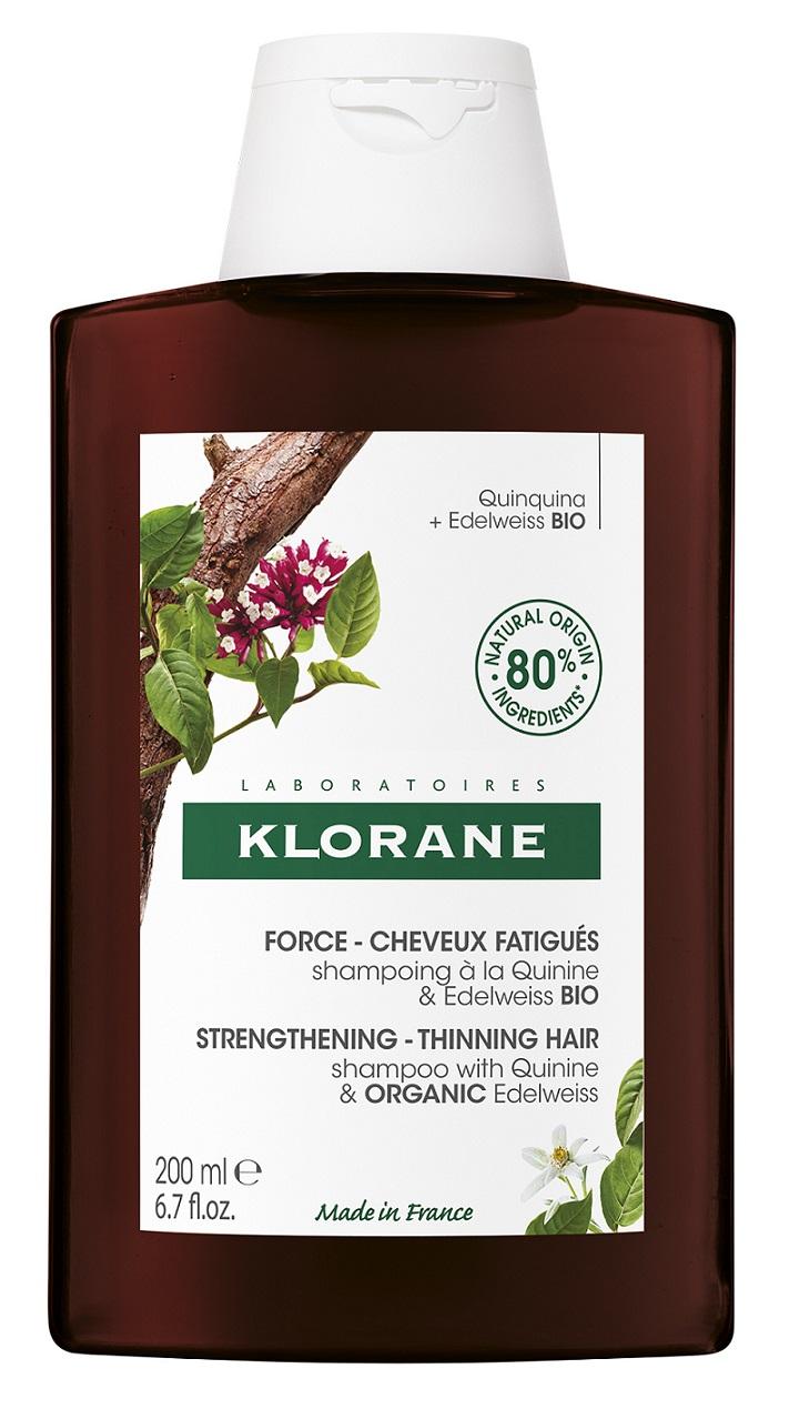 Купить Klorane Шампунь с экстрактом Хинина и органическим экстрактом Эдельвейса, 200 мл (Klorane, ), Франция