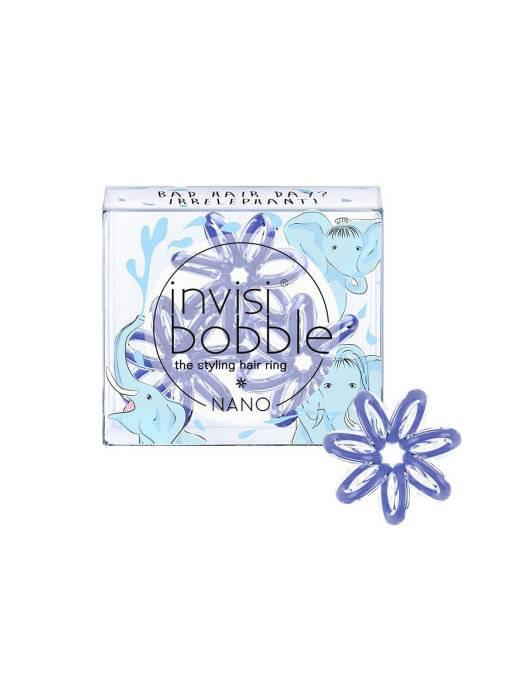Купить Invisibobble Резинка-браслет для волос Bad Hair Day? Irrelephant!, 3 шт (Invisibobble, Nano), Великобритания