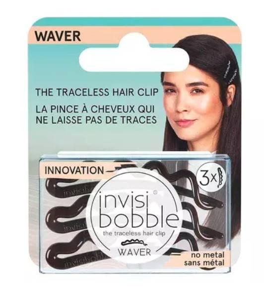 Купить Invisibobble Заколка для волос Pretty Dark, с подвесом, 3 шт (Invisibobble, Waver), Великобритания