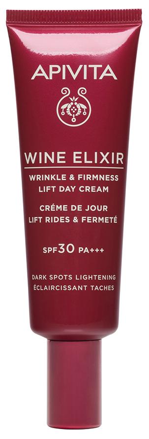 Купить Apivita Крем-лифтинг SPF30, осветляющий пигментные пятна, 40 мл (Apivita, Wine Elixir), Греция