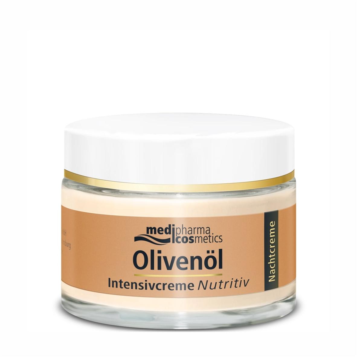 Купить Medipharma Cosmetics Питательный ночной крем интенсив для лица, 50 мл (Medipharma Cosmetics, Olivenol), Германия