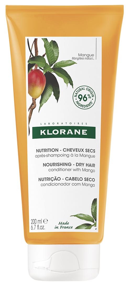 Купить Klorane Бальзам-ополаскиватель с маслом манго, 200 мл (Klorane, Dry Hair), Франция
